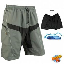 Pantaloneta con Badana removible MTB