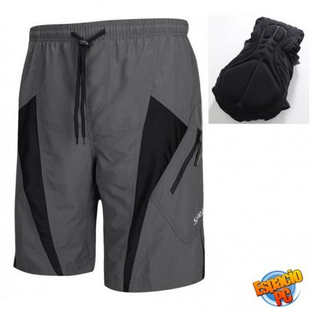 Pantaloneta con Badana MTB