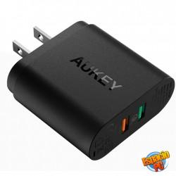 Aukey Pa-T12 Cargador Carga Rápida QC 2.0